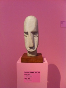 Emil Filla: Head, 1915. Photo: GK